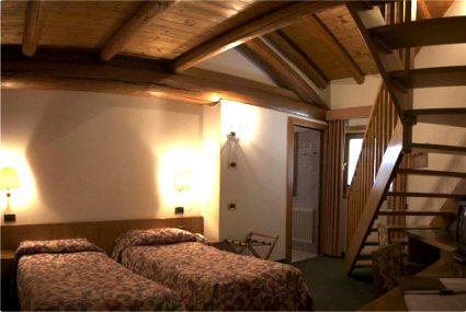 Camera 2 piani Hotel Alla Vecchia Stazione